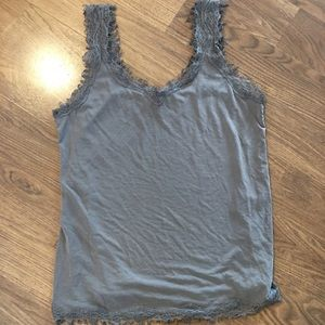 NWOT Cream Olive coloured tank top